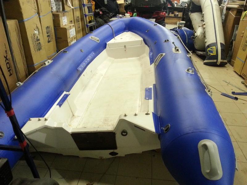 модернизировать пвх лодку