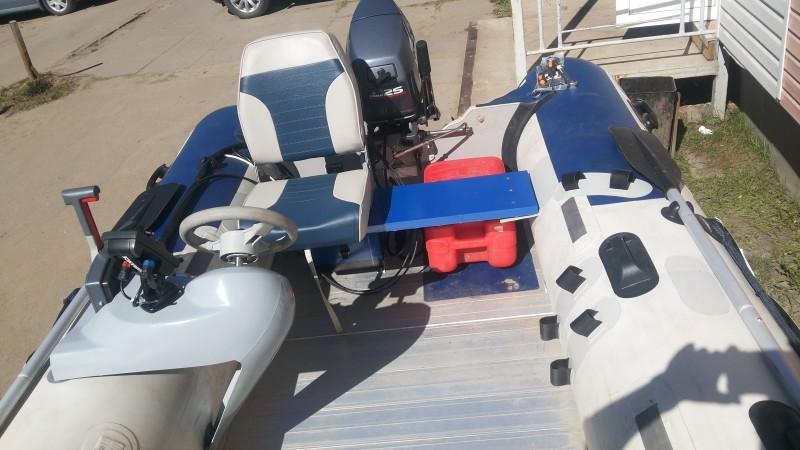 починка лодок из пвх
