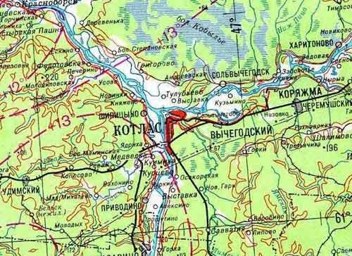 Подробная спутниковая карта