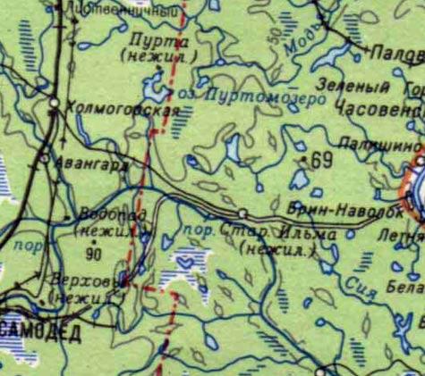 и река Северная Двина.