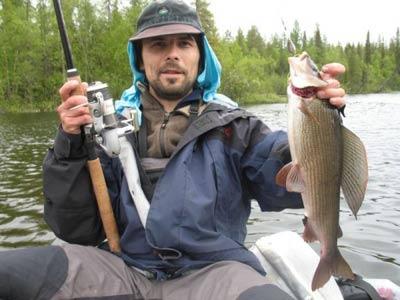 рыбалка на реке юла