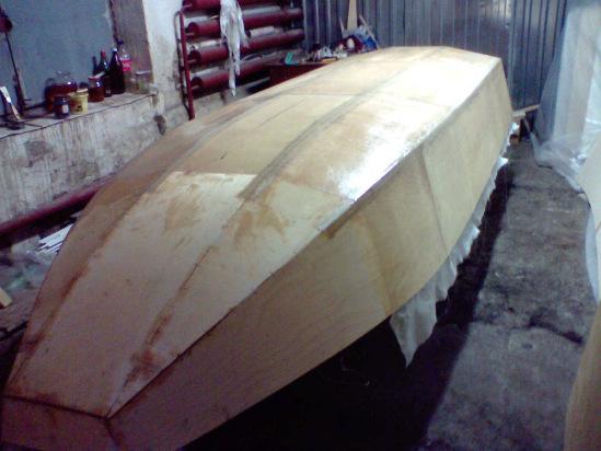 Как сделать лодку из железа своими руками