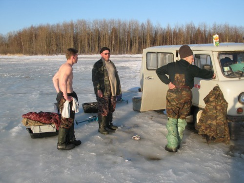 рыбалка на севере лучшие видео