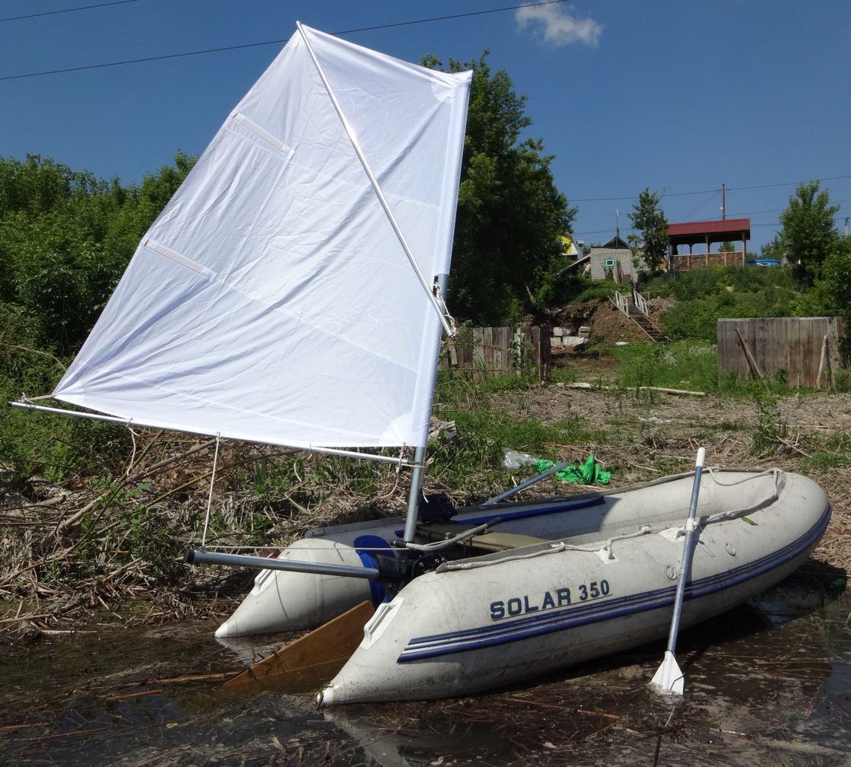 Транцевые лодки парусные