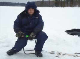 рыбалка на севере солозеро