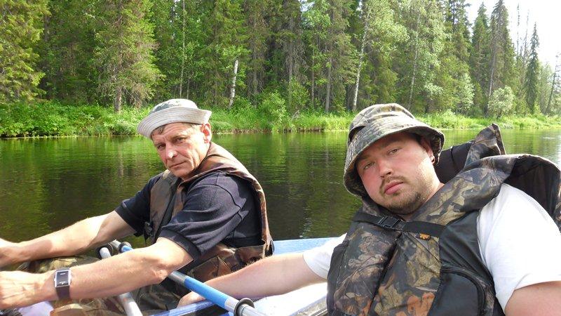 Знакомство Рыбаков