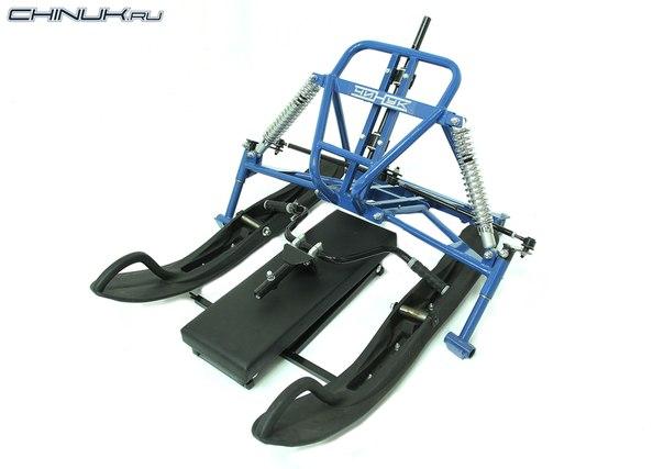 Лыжные модули для мотобуксировщиков своими руками