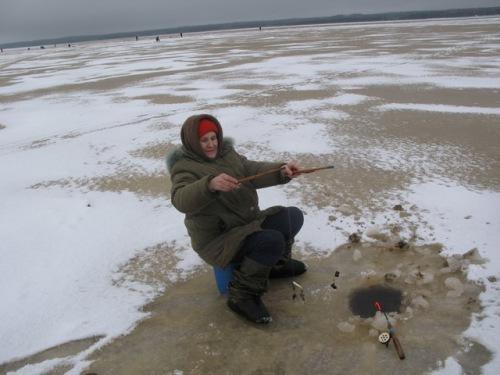 ловля наваги на море
