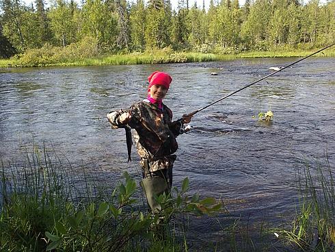 август ловля рыбы