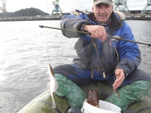 рыбалка весной на северной двине