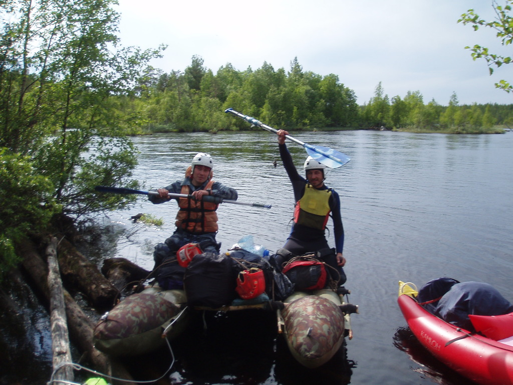карелия рыбалка дикарями на реках