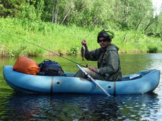 рыбалка на мудьюге летом
