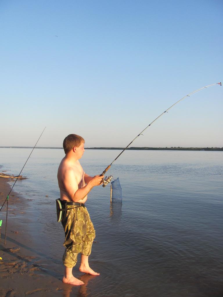 промысловик рыбак