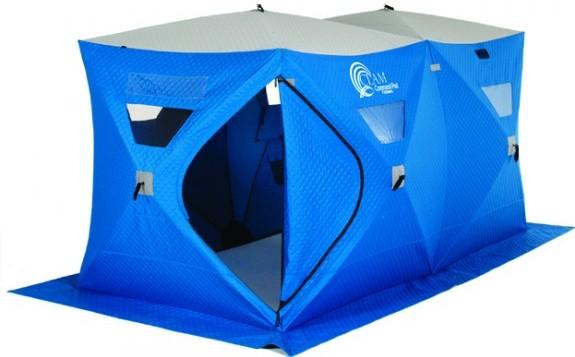 двойная рыбацкая палатка