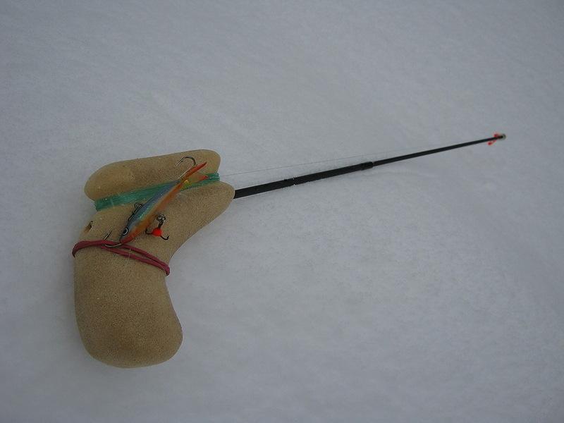 Как сделать зимнею удочку своими руками фото