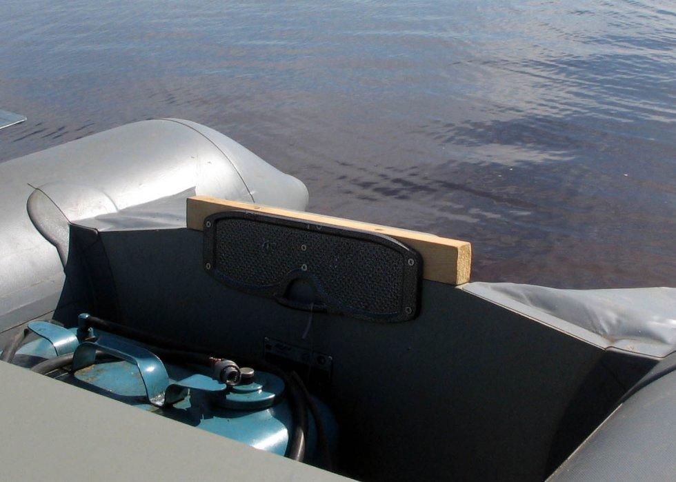 Накладки на транец лодки пвх своими руками 78