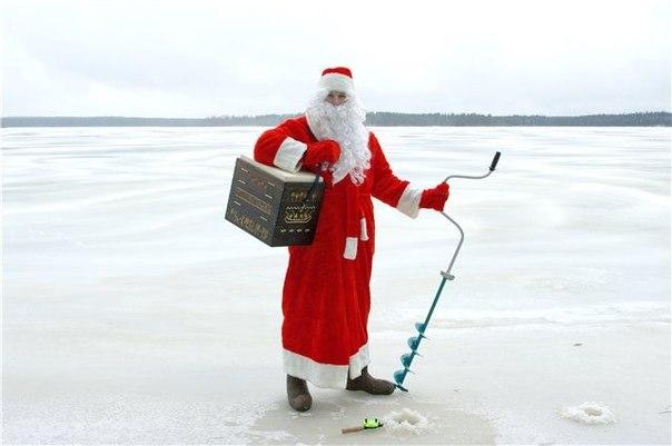 Открытки рыбакам с новым годом