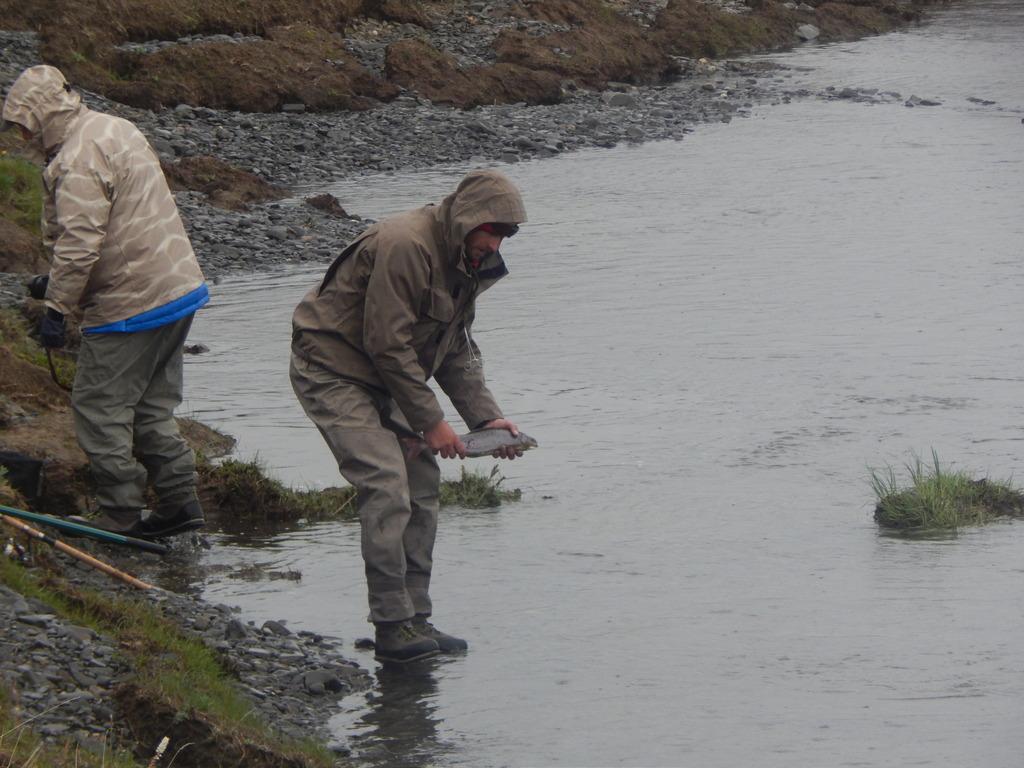 ловля арктического гольца в финляндии