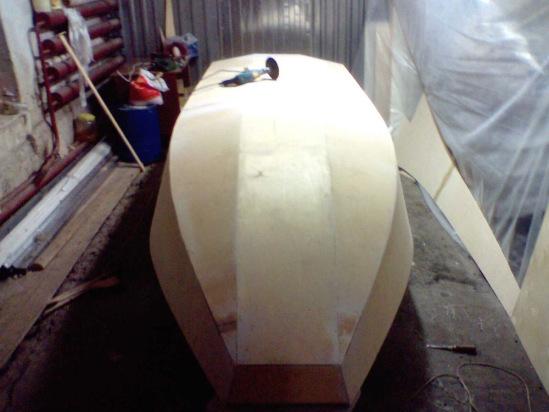 Видео как делать лодку из пенопласта