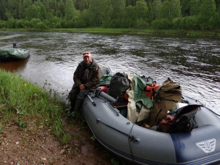 Ловля семги на реках кольского