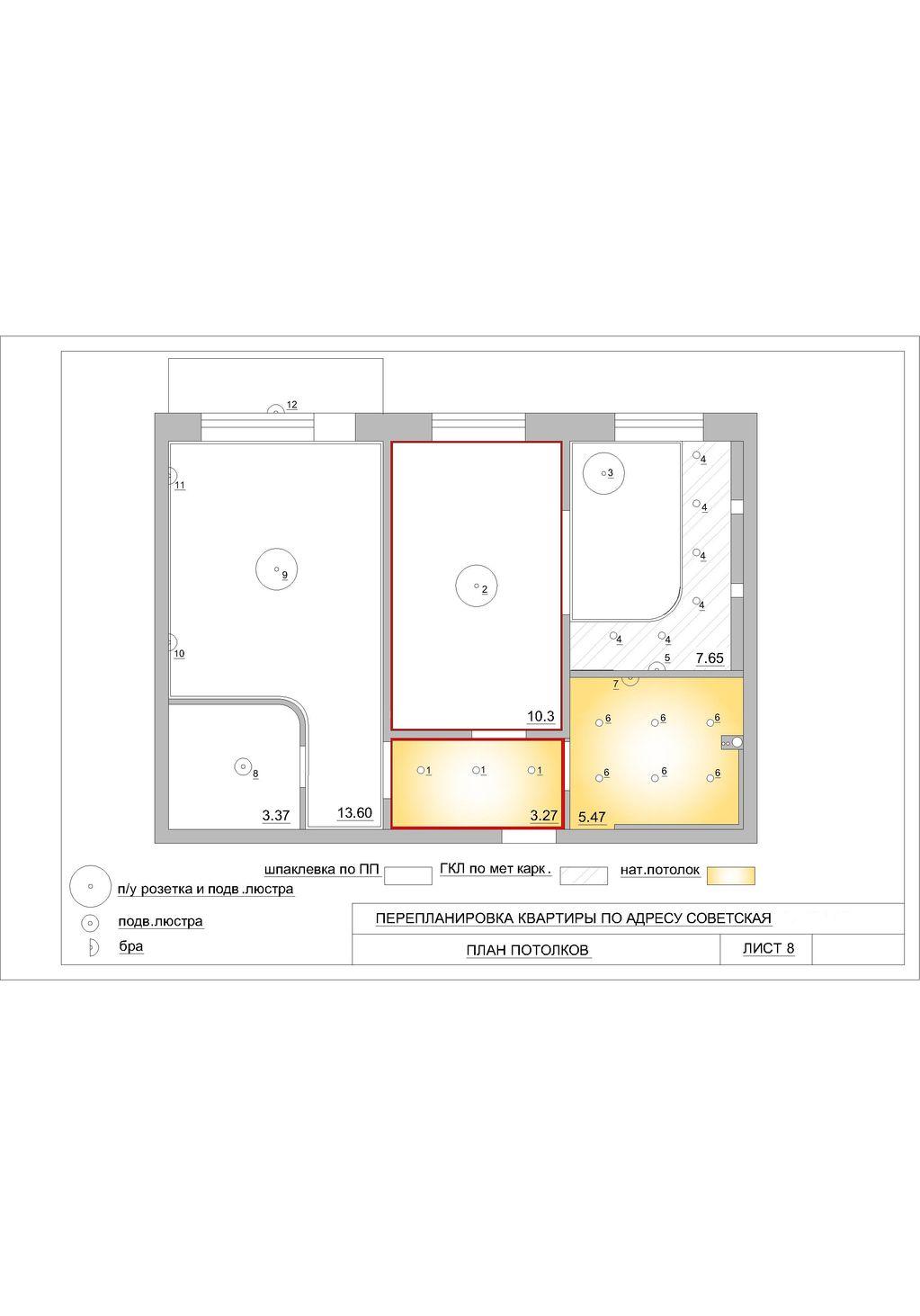 Схема трехкомнатной квартиры в хрущевке
