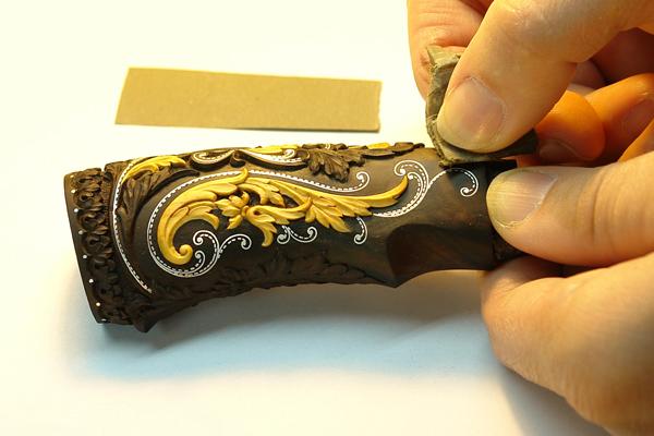 Изготовление охотничьего ножа в домашних условиях