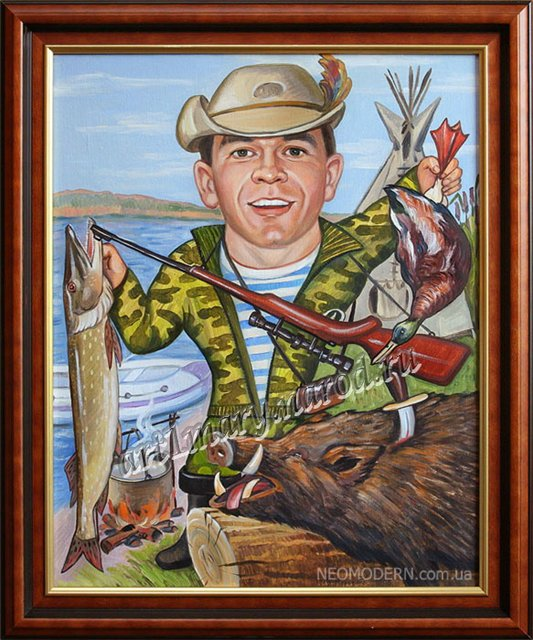 прикольные поздравление мужчине рыбак охотник