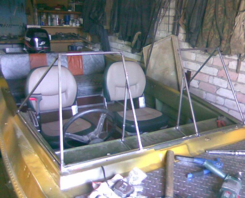 Тюнинг лодки крым своими руками