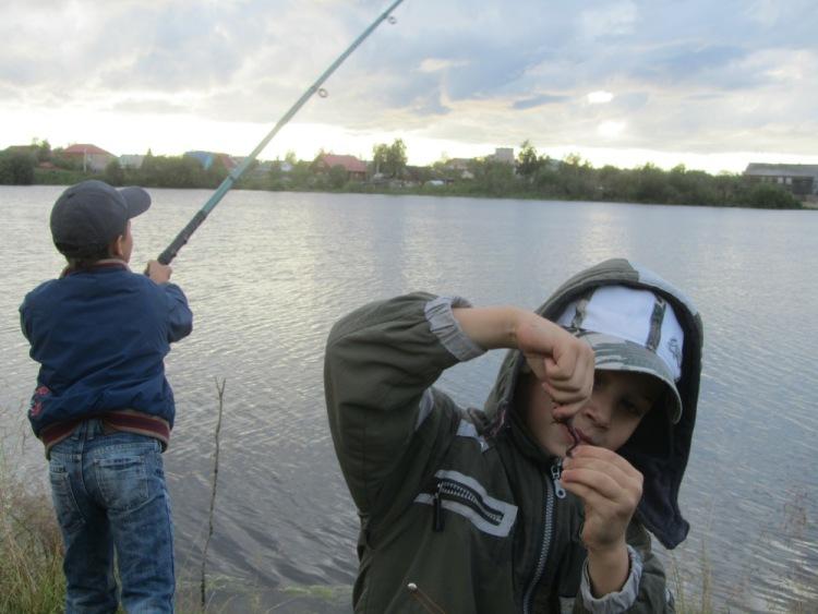 рыбалка на бутыгино